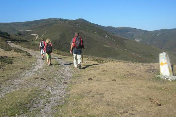 Camino de Santiago a su paso por Pola de Allande