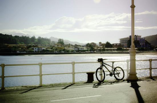 ruta en bici por ribadesella