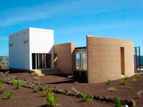 Casa bioclimática en Tenerife
