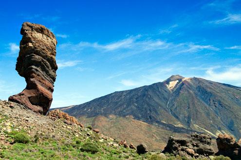Trekking en el parque del Teide