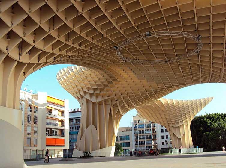 Ruta en bicicleta por Sevilla, Metropol