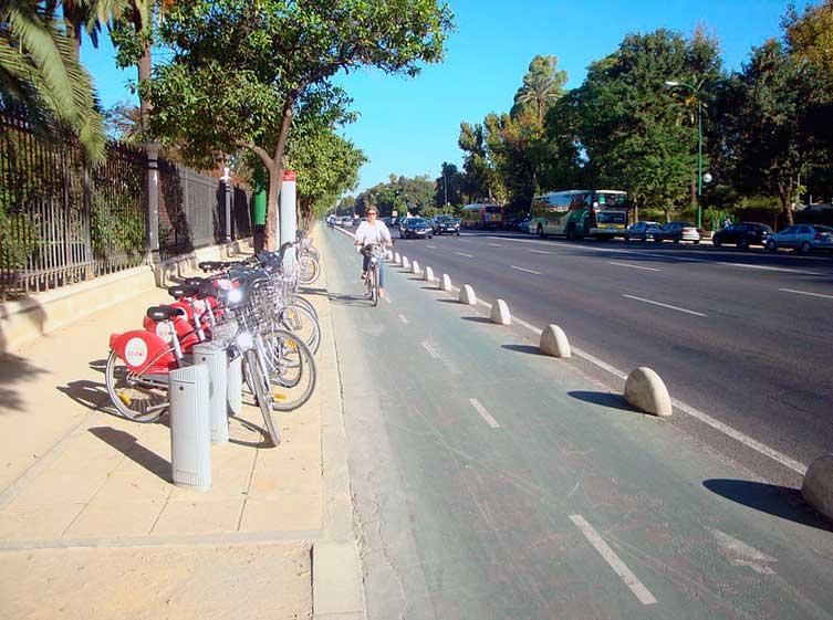Una ruta en bici por Sevilla