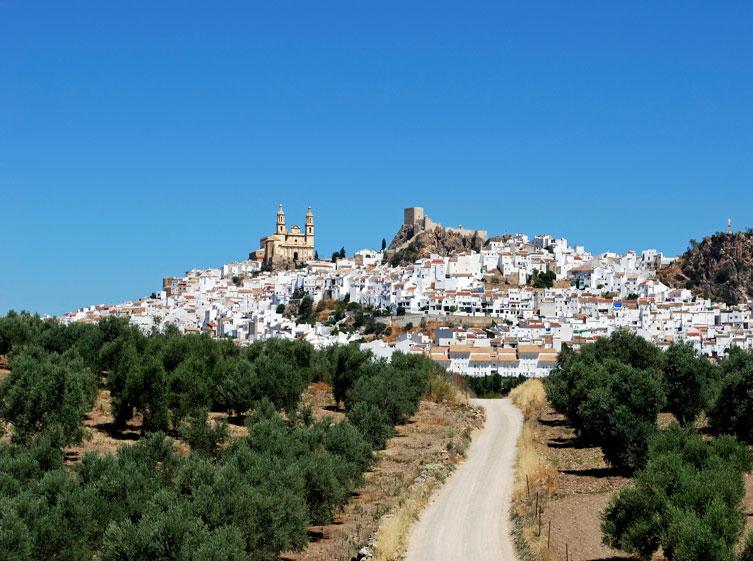 Vía verde de la Sierra en Andalucía