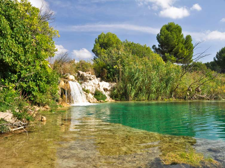 Las Lagunas de Ruidera, una maravilla natural