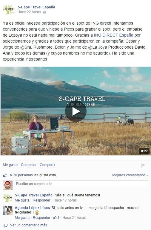 S-cape Facebook