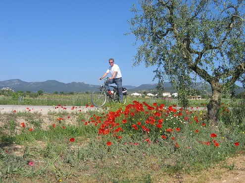 Recorrer Cataluña en bicileta