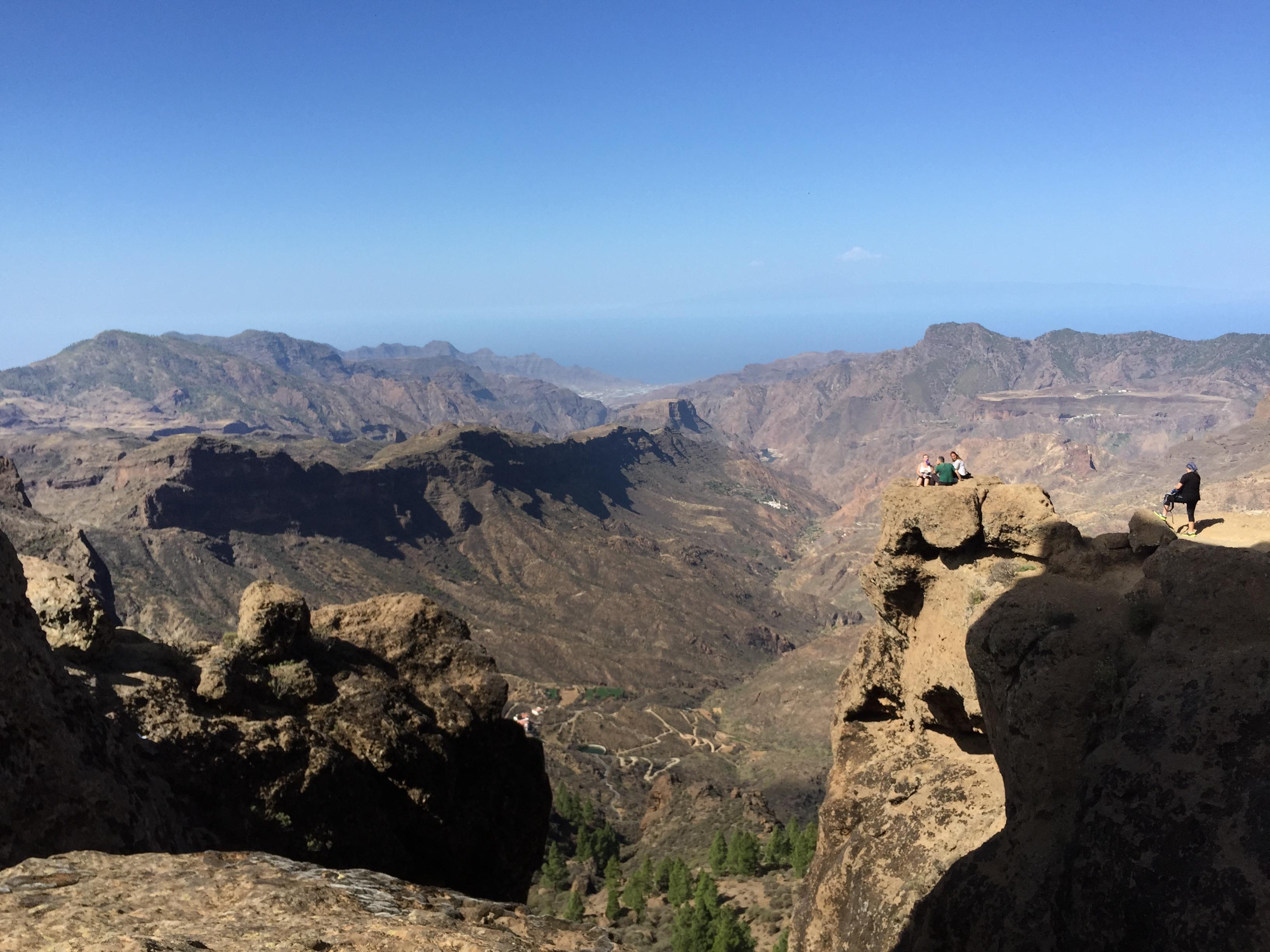 Desde el Roque Nublo